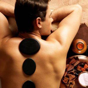 Stone-массаж горячими камнями